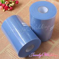 "Hot sale Popular 2/ pcs 6""x 100 yards Light Blue Tulle Roll Spool Tutu Skirt Wedding Craft Party Decor (16 Color Optional)"