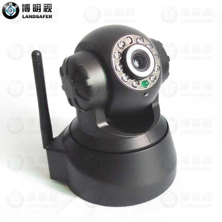 CCTV Wireless Wifi Mini IP PTZ IR Video Camera L-WXSD09-1(China (Mainland))