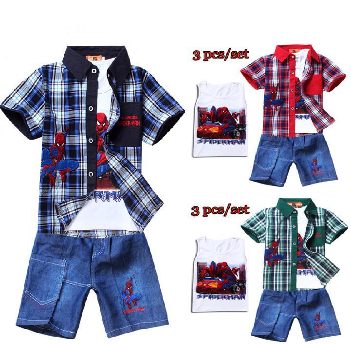 Summer Clothes Cartoon Summer Cartoon Spiderman