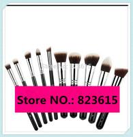 10PCS Precision Essential Kit,  F80,82,84,86,88, P80, 82,84,86,88 Kabuki Makeup Brushes Sets