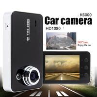 "100% Original K6000 NOVATEK Chipset 1080P Car DVR 2.7"" LCD Recorder Video Dashboard Vehicle Camera w/G-sensor"
