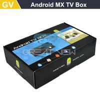 5pcs/lot Free DHL Android tv Box MX Smart Google Fully Loaded XBMC Droidbox G-Box gbox MX2 Navi-X, Adult Devil Sky sports