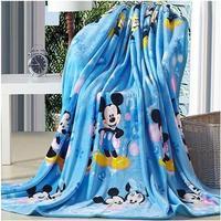 Free shipping carters 2014 floor baby cover coral fleece blanket for the sofa cartoon cartoon blanket  bedding blanket 8color 07