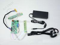 Free shipping R.RM5251 VGA DVI LVDS Controller Board Kit + 12V 4A Power Adapter Easy DIY Monitor