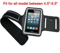 "Sports GYM Arm band Case For 4.5-5.5"" cellphone like  Xiaomi M3,Xiaomi Mi4,Redmi,Oneplus One,Lenovo P780,A850,S960,S920"