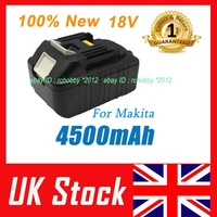 7xBL1845 2014 Real Hot Sale Battery for Makita 18v 4.5ah Li-ion Bl1830 Bl1815 Lithium Ion 4500mah Powerful Rc