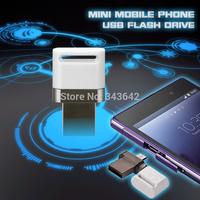 New arrive mini smart phone 64GB OTG USB Flash drive Micro usb flash drive smart phone u disk for Android Phone