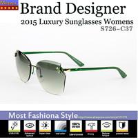 Fashionable Dress Fashion Sunglasses Women Brand Designer 2015,UV400 Polycarbonate Lens Glasses oculos de sol feminino vintage