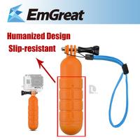 Go pro Accessories Floaty Hand Grip Handle Mount Accessory Float for Gopro Hero 2 3 SJ4000 SJ6000 P0010192