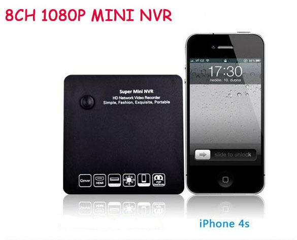 Spedizione gratuita ONVIF 15 più- lingue 3g wifi ingresso audio registratore video di rete 720p 1080p 8ch mini nvr per telecamere ip