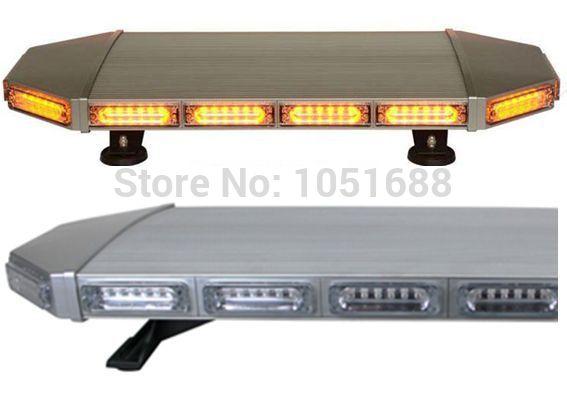 Free shipping low profile GEN III 1 Watt super bright LED mini Lightbar, mini light bar(amber/blue/red/white)ESM0427L(China (Mainland))