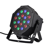 18*1W Par LED RGB DMX 512 Dj Stage Lighting moving heads High power For Disco Party Nightclub