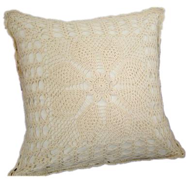Handmade crochet flower pillows sleeve Luxury crochet cushion American sleeve IKEA crafts wedding home decor[Can custom] 90% OFF(China (Mainland))