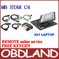 ready to use 21 languages NEW MB Star C4 MB SD connect 4 dianostic tool scanner with 2014.05 HDD DAS XENTRY lenovo x61t LAPTOP