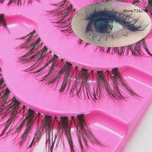 New K-13 Natural Thick False Eyelashes Fake Eyelash Lashes Voluminous Makeup(China (Mainland))