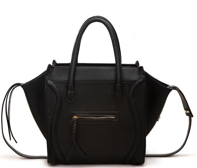 2014 Trend frauen krokoprägung handtasche großen smiley tasche frauen handtasche umhängetasche bolsa frauen handtasche handtasche t085