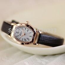 2014 New Arrive Women Leather Strap Watch ,  Dress Watches.Women Rhinestone Wristwatches.Clocks/Reloj.(China (Mainland))