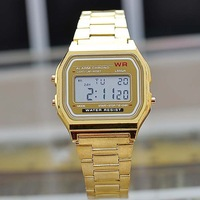 JW196 Men Electronic Watches With LED Digital Watch Alarm Men Sports Wristwatch Water Resistant  Colorful Silicone Band Watch