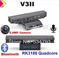 Quad Core RK3188 1.8GHz Adnroid 4.2 TV Box V3II 2GB/8GB Built in 5.0MP Camera MIC RJ45 Bluetooth WIFI DLNA set to box