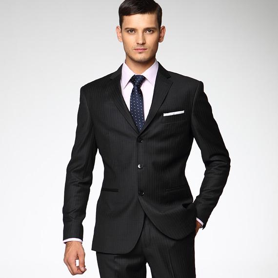 Fashion 2017 formal - Pinstripe Suit Dress Images