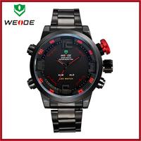 Men's Watches Top Brand Luxury WEIDE Clock Relojes Deportivos Relogio Masculino Montre Homme Analog + Digital Watch Waterproof