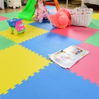 30*30cm  Hot Green Baby Play Puzzle Mats Latest  11 Colors Choose Various Patterns Tapete Infantile Tapete Para Bebe