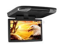15.6'' Car Overhead Roof Monitor,1366x768,MP5/MP4/MP3 Player,Car Roof Monut Flip Down Monitor,IR/FM/USB/SD