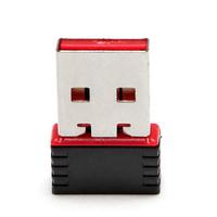 Free shipping Mini USB wireless network card Nano Wifi Antenna Adapter 150MWiFi signal transmitter /receiver desktop WLAN USB