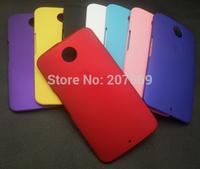 For Google Nexus 6 Matte hard Case, High quality Rubber hard back Cover Case For Motorola Nexus 6
