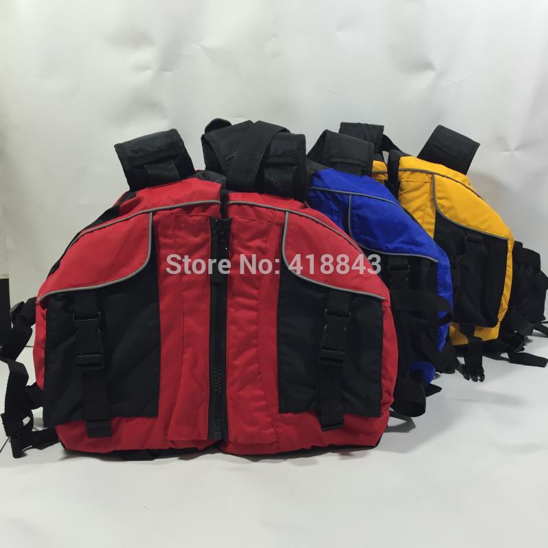 The canoe kayak professional inflatable boat drifting life jacket swimming suit life vest life jacket(China (Mainland))