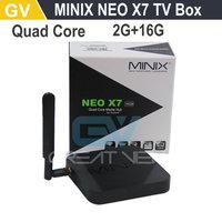1PC MINIX NEO X7 Android TV Box RK3188 Quad Core Mini PC Smart TV Receiver 2G/16G WiFi HDMI USB SD Card Optical XBMC
