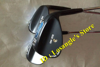 2014 New Sale 588 RTX Rotex Face Golf Wedge Set 52/56/60 Degree With Steel Shafts Golf 588RTX Clubs Head Cover 3PCS Black Color