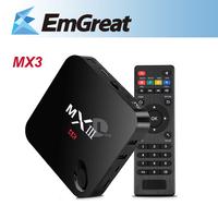 NEW MX TV Box MXIII MX3 Android Smart TV Box Amlogic S802 Quad Core Android 4.4 XBMC 1G/8GB 2.4G/5G BT HD 3D 4K P0015938