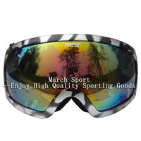 Deluxe Snowboard Ski Goggles Snow Sports Eyewear Double Lens Mirrored Myopia Glasses Fog Proof UV 400 NM