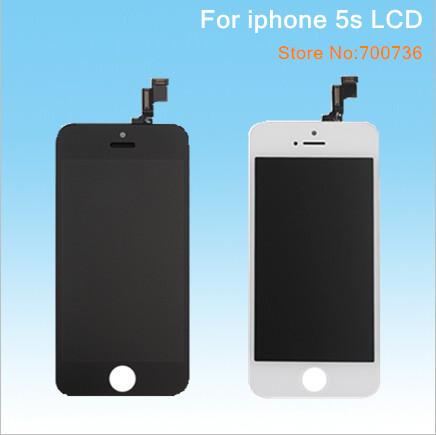 Handy-lcds kostenloser versand dhl 20pcs/lot montage digitizer Kontakt geröll für apple iphone 5s lcd replacememt