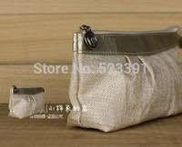 2015 New Hot Korean Linen Pu Leather Brand Lady Women Femininas Ol Ay Fashion Handbags Cosmetic Organizer Bags Clutch Purse