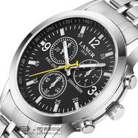 electronic 2015 new Year's gift promotion discount Quartz watch Luxury business Women men Wristwatches Steel belt Quartz Watches