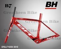 NEW BH G6 B7 3K carbon road bike frame cycling T800 frameset bicycle 700C BB30 colnago c59 de rosa mendiz colnago seatpost clamp