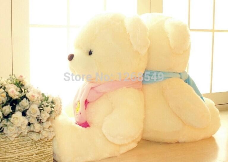 Free Shipping 30CM stuffed animal Bear Doll Mini Plush Teddy Scarf Bear Birthday Gift Kawaii Plush Stuffed Toys(China (Mainland))