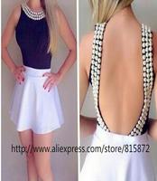new women summer dress 2014 vestidos fashion women clothing bandage dress  vestido de festa casual dress party dresses  D02