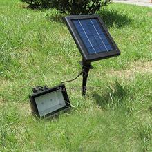 cheap solar flood light