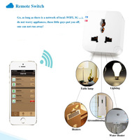 Smart Home Smart Plug WiFi Remote Control Socket Power Supply  Wireless Signal For Smartphone