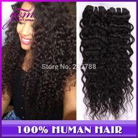 5A Ms Lula Brazilian Virgin Hair Curly 3pcs 4pcs Lot Rosa Hair Products Brazilian Deep Wave Human Hair Weave Luxy Funmi Hair