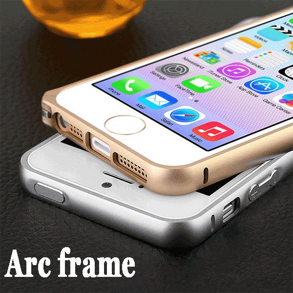 Free Screen Protector Circle Arc Aluminum Bumper For iphone 5 5s bumper Luxury Space aluminum No Screw Metal buckle phone bumper(China (Mainland))