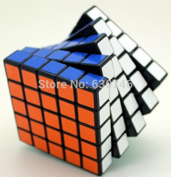 New Shengshou 5x5x5 62mm Magic Cube Speed Puzzle Kids Educational Twisty Magico Cubo Toys Free Shipping()