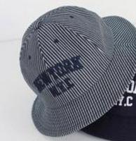Cute denim casual outdoor dome bucket hats for women ladies girls small brim summer outdoor sun hat tourist bucket hat brand