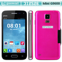 Star mini G9600 Smart phone SC7715  4.0 Inch Screen mobile phone Android 4.4 WiFi 3G /WCDMA  cell phone