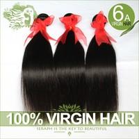 Brazilian virgin hair straight 3/4pcs lot Unprocessed Human hair extension Cheap Brazilian hair weave bundles natural black hair