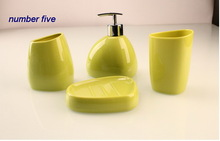 wholesale plastic bathroom set