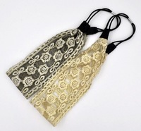 2014 New girls lace headbands ladies floral and leafs Embroidery headband  for women wholesale   24pcs/lot  free shipping